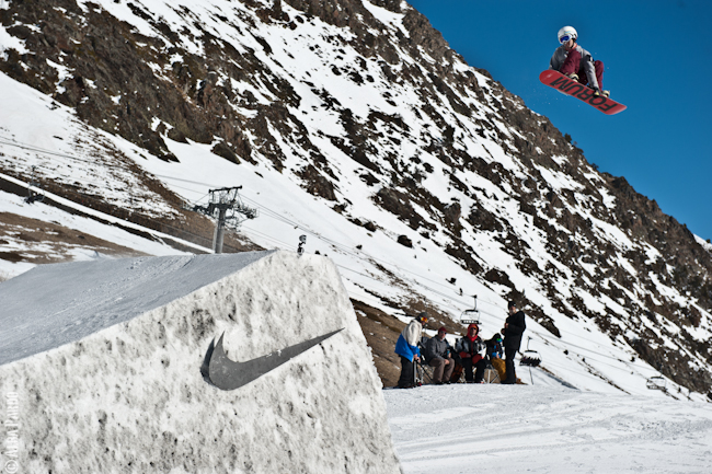 Bernat Ripoll at the Nike Chosen Series in Vallnord