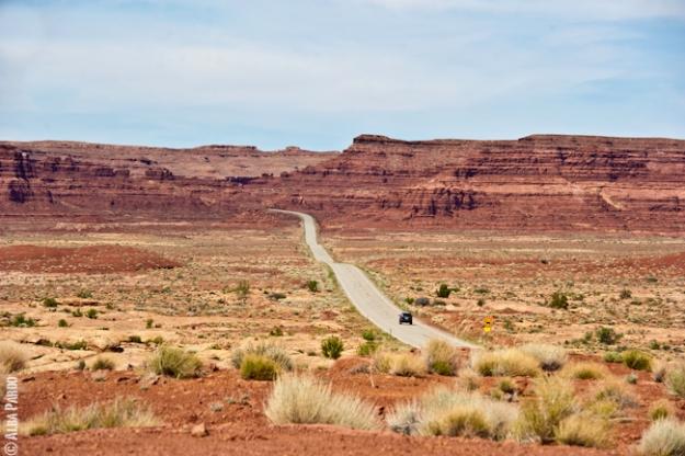 Utah's straight roads