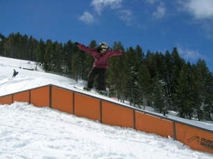 I was 15, and the snowparks era had already began.